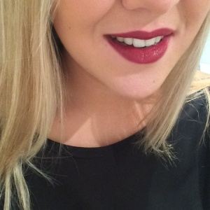 Lip Swatch - Black Cherry
